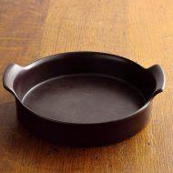 n1201-300-1 23.5x21.3x5.6グスタクスベリーテルマ両手つき陶器鍋