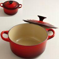 n1224 LECREUSET赤小鍋