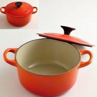 n1225 LECREUSETオレンジ小鍋