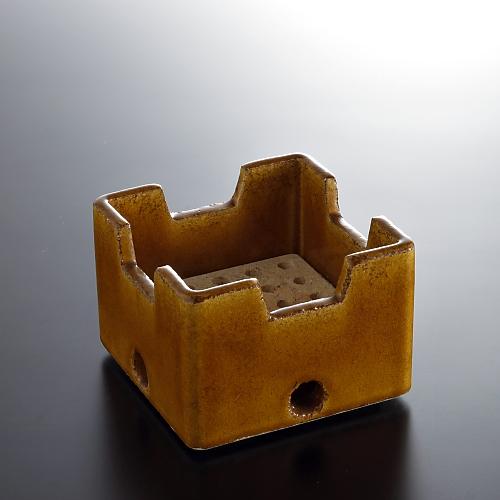 n2003-90-1 11.5x11.5x8.2あめいろ角コンロ