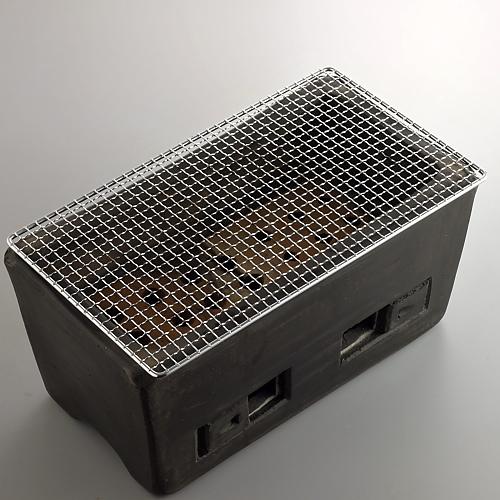 n2008-450-1 41.0x22.0x19.5黒長角コンロ
