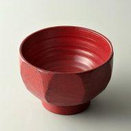 s1061-65-1 φ12.8x8.2赤麺と栄大ぶり汁碗