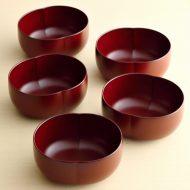 s1548-45-5 11.0x9.4x4.7朱あわせぬり鉢