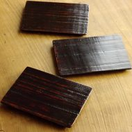 s1563-45-3 13.5x10.0木目根来長角銘々皿