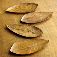 s1596-25-5 18.5x9.2自然朴葉皿