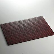 s2109-90-1 42.3x29.8朱根来格子ランチョン