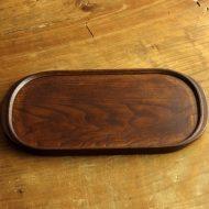 s2116-180-1 30.0x14.8木製楕円トレー