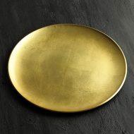 s2124-150-1 φ30.0金箔丸盆