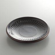 s3012-35-2 φ11.8x1.8溜塗り器楽茶たく