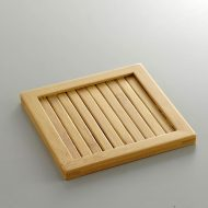 s3039-20-2 10.2x10.2竹製枠付き和コースター