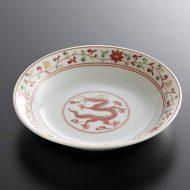 t1033-15-5 φ14.8赤絵龍小皿