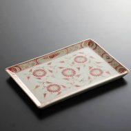 t2074-30-1 23.8x16.0ベトナムバッチャン焼き長皿