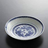 t2097-40-1 φ18.0x3.5ホタル金魚中華深皿 小