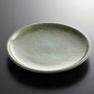 t2106y-60-1 φ27.8タイ薄緑花から草皿 大