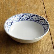 t3005-45-1 φ17.0x4.7タイパイナップル柄浅鉢