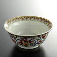 t3009-25-1 φ12.0x5.3中華色唐草スープ鉢