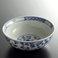 t3056-30-1 φ15.0x5.5バッチャン焼き染付鉢