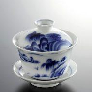 t4009-40-1 φ8.0x8.2山水茶器
