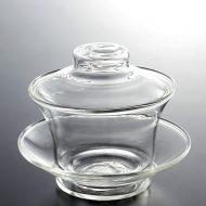 t4012-30-2 φ10.2x8.2ガラス中華茶器