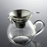 t4018-40-1 13.5x9.3x10.0ガラス茶海茶こし付