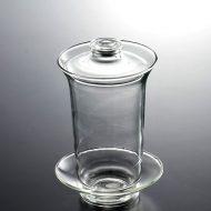 t4060-50-2 φ9.8x15.0花茶用ガラス茶器