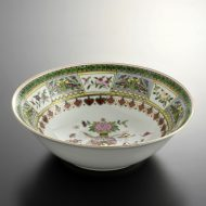 t5020-50-1サイズ:φ20.5x6.4景徳鎮水色ラーメン鉢