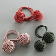 t5559-25-1 5.5x2.5韓国組み玉ナフキンリング ピンク 赤 緑