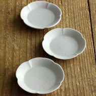 w1050 青白磁 木瓜ちび皿(大井 寛史)