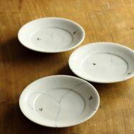 w1507-35-3*φ12.5わらび染付け小皿