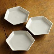 w1520-30-3*φ15.2白六角小皿