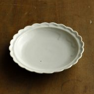 w1524-75-1*φ12.8青磁花輪小皿
