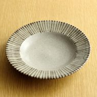 w1538-25-1*φ14.3土色十草小皿
