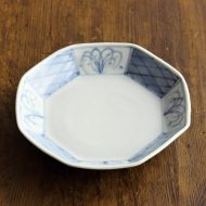 w1554-35-1*φ14.0x2.8染付まとり深皿