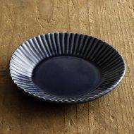 w1568-60-1*φ12.0x1.9藍しのぎ皿(須藤拓也)