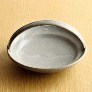 w1583-50-1*φ13.7x8.0灰色手つき深皿