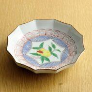 w1597-75-1*φ14.5x3.3京焼きざくろ皿