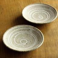 w1633-20-2*φ11.3灰粗目うずまき小皿