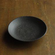 w1653-40-1*φ10.8x2.0黒つやなし小皿
