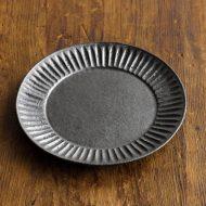 w1680-40-1*φ12.0黒マットしのぎ小皿