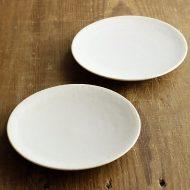 w1703-60-2*φ14.5マット粉引き小皿