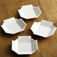 w1719-30-4*9.8x9.8x1.8白磁十字小皿
