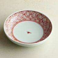 w1723 赤絵皿