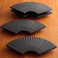 w2002-50-4*27.4x13.5x2.4TACCA黒扇皿