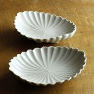 w2008-602*18.0x14.3x4.3白楕円菊浅鉢