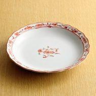 w2038-351*φ16.5赤絵花皿