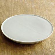 w2043-2001*φ18.4x2.3青磁高台皿(藤井憲之)