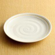 w2048-151*φ16.5生成り黄線皿