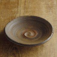w2313-751*φ18.0x3.6茶うずまき厚手皿
