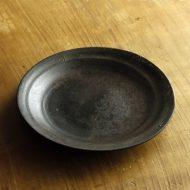 w2318-701*φ19.5黒マット漆焼きつけ皿