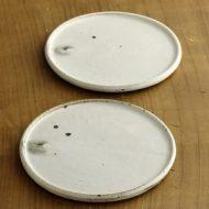 w2343-802*φ15.2粉引き平皿